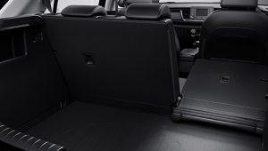 60:40 split-folding rear seats