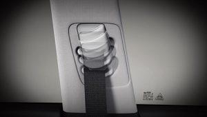 Adjustable seatbelt anchor