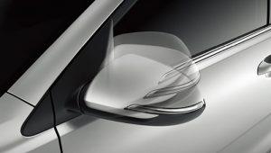 Electric folding mirrors