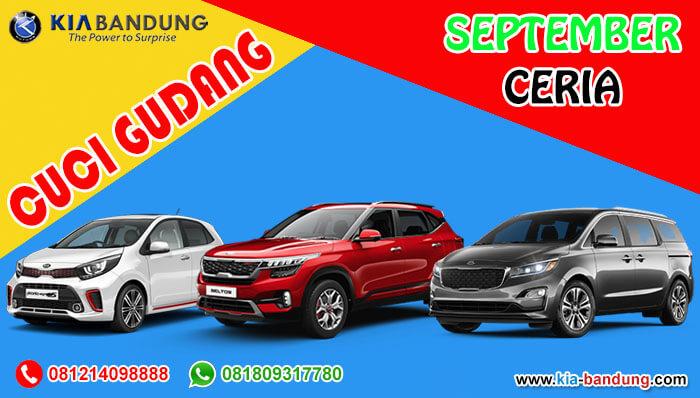 Promo September Ceria Cuci Gudang KIA Bandung 2020
