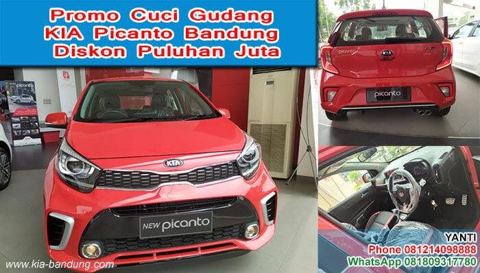 Promo Cuci Gudang KIA Picanto Bandung Diskon Puluhan Juta
